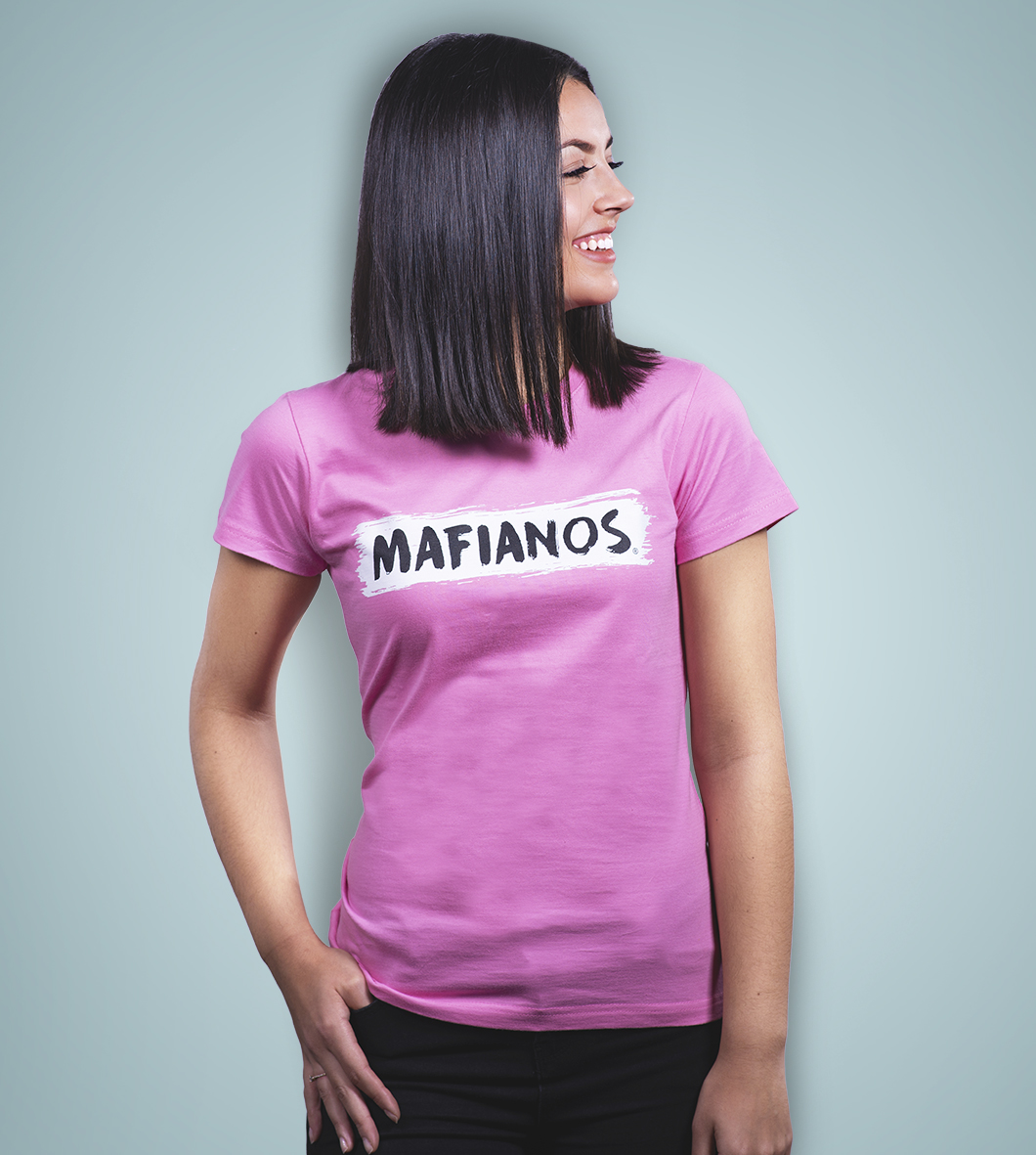 44fa5bb37 Dámske tričko (ružové) | Mafianos.sk - Jedinečná FanZóna Mafie Corner